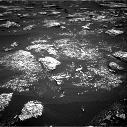 Nasa's Mars rover Curiosity acquired this image using its Right Navigation Camera on Sol 1672, at drive 1200, site number 62