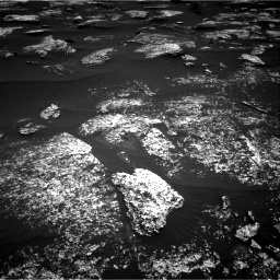 Nasa's Mars rover Curiosity acquired this image using its Right Navigation Camera on Sol 1672, at drive 1212, site number 62