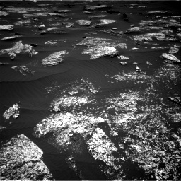 Nasa's Mars rover Curiosity acquired this image using its Right Navigation Camera on Sol 1672, at drive 1218, site number 62