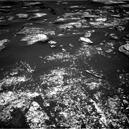 Nasa's Mars rover Curiosity acquired this image using its Right Navigation Camera on Sol 1672, at drive 1230, site number 62