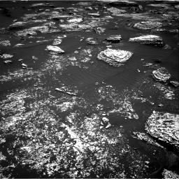 Nasa's Mars rover Curiosity acquired this image using its Right Navigation Camera on Sol 1672, at drive 1236, site number 62
