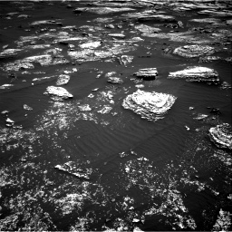 Nasa's Mars rover Curiosity acquired this image using its Right Navigation Camera on Sol 1672, at drive 1242, site number 62