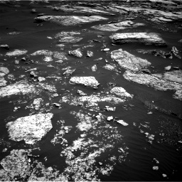 Nasa's Mars rover Curiosity acquired this image using its Right Navigation Camera on Sol 1672, at drive 1278, site number 62