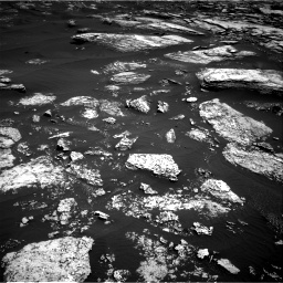 Nasa's Mars rover Curiosity acquired this image using its Right Navigation Camera on Sol 1672, at drive 1284, site number 62