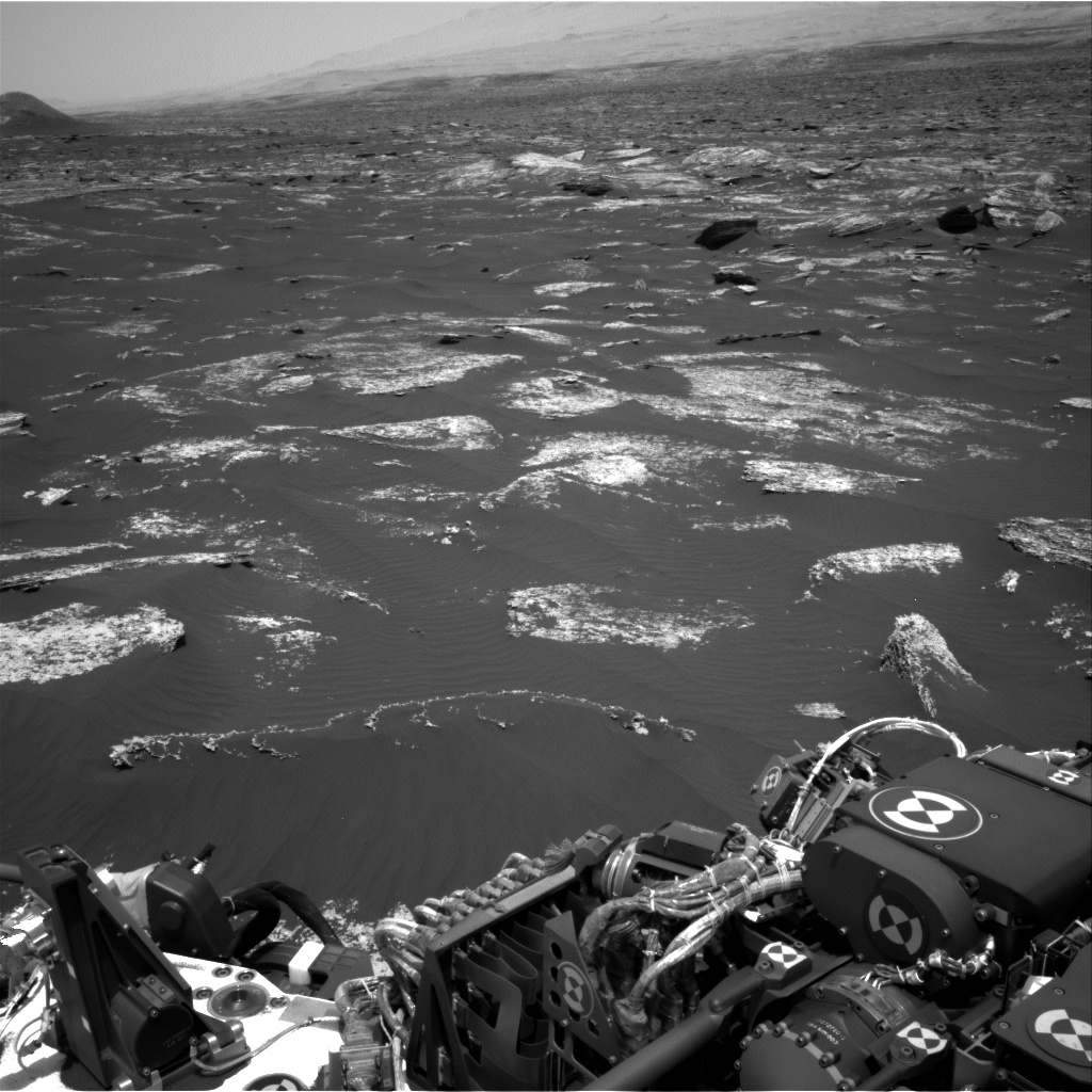 Nasa's Mars rover Curiosity acquired this image using its Right Navigation Camera on Sol 1672, at drive 1314, site number 62
