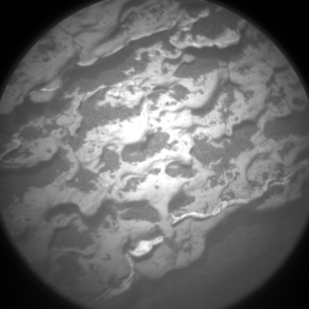 Nasa's Mars rover Curiosity acquired this image using its Chemistry & Camera (ChemCam) on Sol 1673, at drive 1314, site number 62