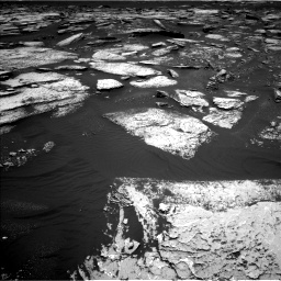 Nasa's Mars rover Curiosity acquired this image using its Left Navigation Camera on Sol 1673, at drive 1332, site number 62