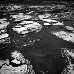 Nasa's Mars rover Curiosity acquired this image using its Left Navigation Camera on Sol 1673, at drive 1338, site number 62