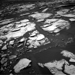 Nasa's Mars rover Curiosity acquired this image using its Left Navigation Camera on Sol 1673, at drive 1356, site number 62