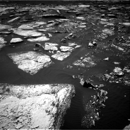 Nasa's Mars rover Curiosity acquired this image using its Right Navigation Camera on Sol 1673, at drive 1326, site number 62