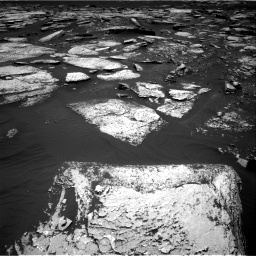 Nasa's Mars rover Curiosity acquired this image using its Right Navigation Camera on Sol 1673, at drive 1332, site number 62
