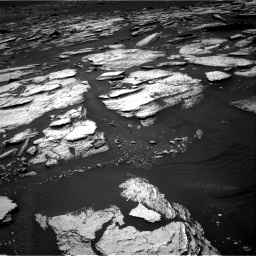 Nasa's Mars rover Curiosity acquired this image using its Right Navigation Camera on Sol 1673, at drive 1350, site number 62