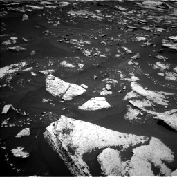 Nasa's Mars rover Curiosity acquired this image using its Left Navigation Camera on Sol 1676, at drive 1386, site number 62