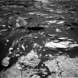 Nasa's Mars rover Curiosity acquired this image using its Left Navigation Camera on Sol 1676, at drive 1488, site number 62