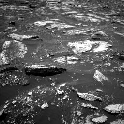 Nasa's Mars rover Curiosity acquired this image using its Left Navigation Camera on Sol 1676, at drive 1506, site number 62