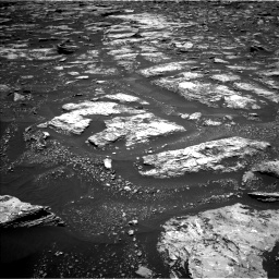 Nasa's Mars rover Curiosity acquired this image using its Left Navigation Camera on Sol 1676, at drive 1524, site number 62