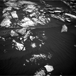 Nasa's Mars rover Curiosity acquired this image using its Right Navigation Camera on Sol 1676, at drive 1434, site number 62