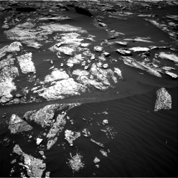 Nasa's Mars rover Curiosity acquired this image using its Right Navigation Camera on Sol 1676, at drive 1440, site number 62