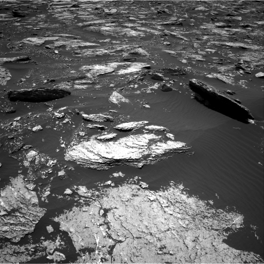 Nasa's Mars rover Curiosity acquired this image using its Right Navigation Camera on Sol 1676, at drive 1494, site number 62