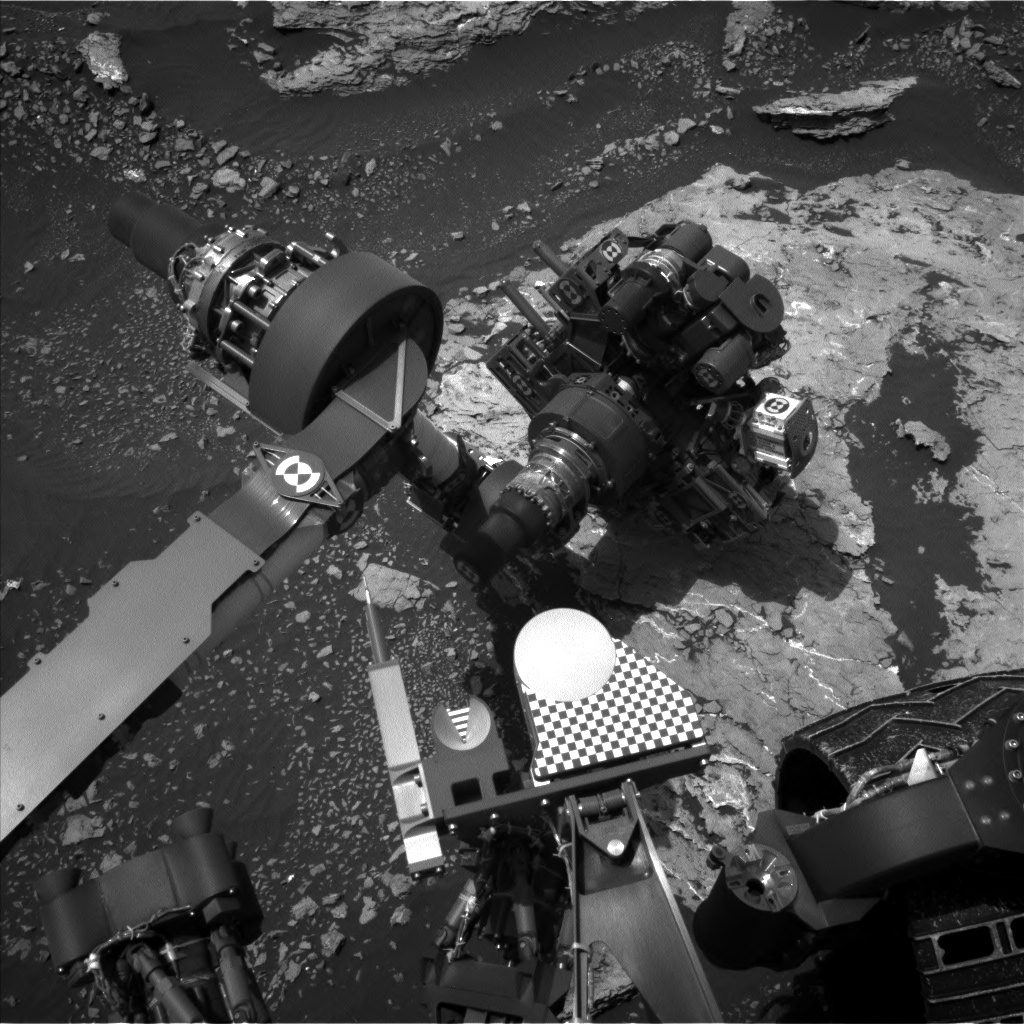 Nasa's Mars rover Curiosity acquired this image using its Left Navigation Camera on Sol 1677, at drive 1530, site number 62