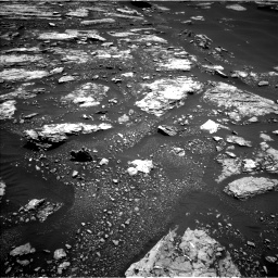 Nasa's Mars rover Curiosity acquired this image using its Left Navigation Camera on Sol 1677, at drive 1554, site number 62