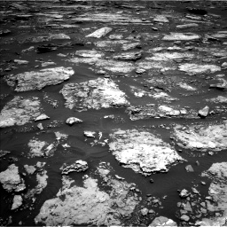 Nasa's Mars rover Curiosity acquired this image using its Left Navigation Camera on Sol 1677, at drive 1578, site number 62