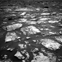 Nasa's Mars rover Curiosity acquired this image using its Left Navigation Camera on Sol 1677, at drive 1596, site number 62