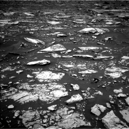 Nasa's Mars rover Curiosity acquired this image using its Left Navigation Camera on Sol 1677, at drive 1650, site number 62