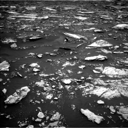 Nasa's Mars rover Curiosity acquired this image using its Left Navigation Camera on Sol 1677, at drive 1662, site number 62
