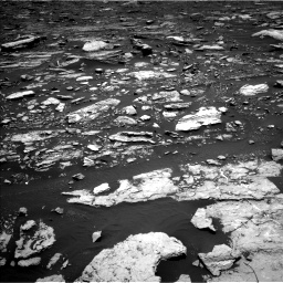 Nasa's Mars rover Curiosity acquired this image using its Left Navigation Camera on Sol 1677, at drive 1704, site number 62