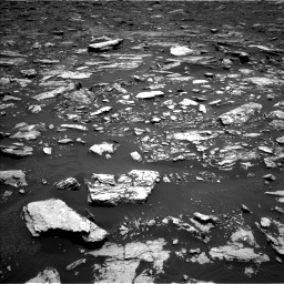 Nasa's Mars rover Curiosity acquired this image using its Left Navigation Camera on Sol 1677, at drive 1716, site number 62