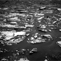 Nasa's Mars rover Curiosity acquired this image using its Left Navigation Camera on Sol 1677, at drive 1728, site number 62