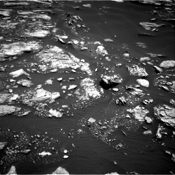 Nasa's Mars rover Curiosity acquired this image using its Right Navigation Camera on Sol 1677, at drive 1542, site number 62