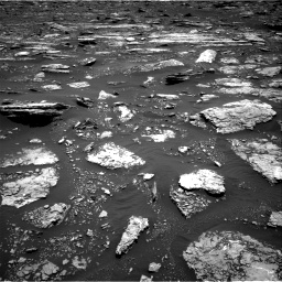 Nasa's Mars rover Curiosity acquired this image using its Right Navigation Camera on Sol 1677, at drive 1614, site number 62