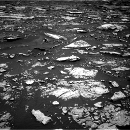 Nasa's Mars rover Curiosity acquired this image using its Right Navigation Camera on Sol 1677, at drive 1656, site number 62