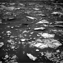 Nasa's Mars rover Curiosity acquired this image using its Right Navigation Camera on Sol 1677, at drive 1662, site number 62