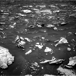 Nasa's Mars rover Curiosity acquired this image using its Right Navigation Camera on Sol 1677, at drive 1680, site number 62