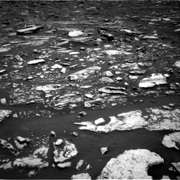 Nasa's Mars rover Curiosity acquired this image using its Right Navigation Camera on Sol 1677, at drive 1710, site number 62