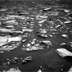 Nasa's Mars rover Curiosity acquired this image using its Right Navigation Camera on Sol 1677, at drive 1734, site number 62