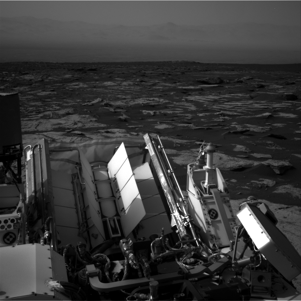 Nasa's Mars rover Curiosity acquired this image using its Right Navigation Camera on Sol 1677, at drive 1776, site number 62