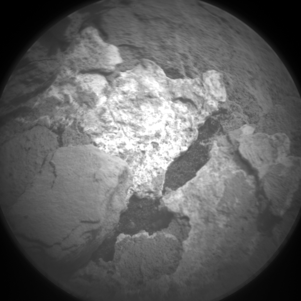 Nasa's Mars rover Curiosity acquired this image using its Chemistry & Camera (ChemCam) on Sol 1678, at drive 2026, site number 62