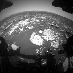 Nasa's Mars rover Curiosity acquired this image using its Front Hazard Avoidance Camera (Front Hazcam) on Sol 1678, at drive 1938, site number 62