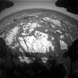 Nasa's Mars rover Curiosity acquired this image using its Front Hazard Avoidance Camera (Front Hazcam) on Sol 1678, at drive 1962, site number 62