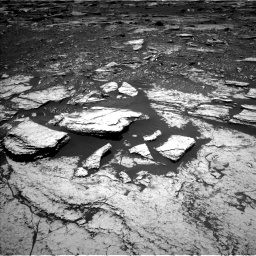 Nasa's Mars rover Curiosity acquired this image using its Left Navigation Camera on Sol 1678, at drive 1854, site number 62