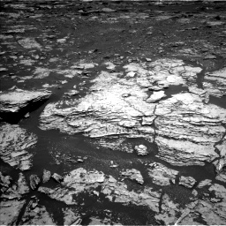 Nasa's Mars rover Curiosity acquired this image using its Left Navigation Camera on Sol 1678, at drive 1878, site number 62