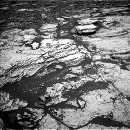 Nasa's Mars rover Curiosity acquired this image using its Left Navigation Camera on Sol 1678, at drive 1914, site number 62