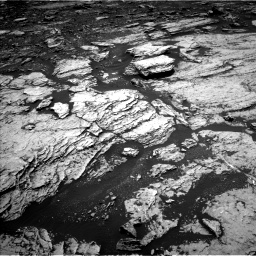Nasa's Mars rover Curiosity acquired this image using its Left Navigation Camera on Sol 1678, at drive 1926, site number 62