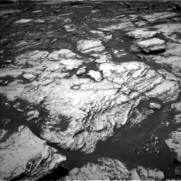 Nasa's Mars rover Curiosity acquired this image using its Left Navigation Camera on Sol 1678, at drive 1932, site number 62