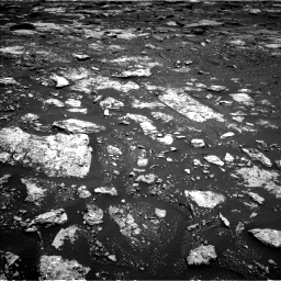 Nasa's Mars rover Curiosity acquired this image using its Left Navigation Camera on Sol 1678, at drive 1950, site number 62