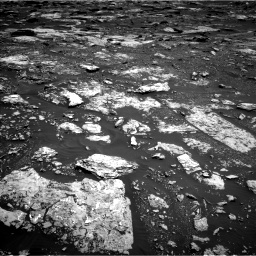 Nasa's Mars rover Curiosity acquired this image using its Left Navigation Camera on Sol 1678, at drive 1962, site number 62